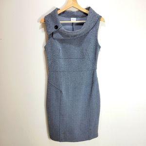 Suzy Shier Herringbone Pencil Dress